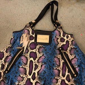 Betsey Johnson Snakeskin purse
